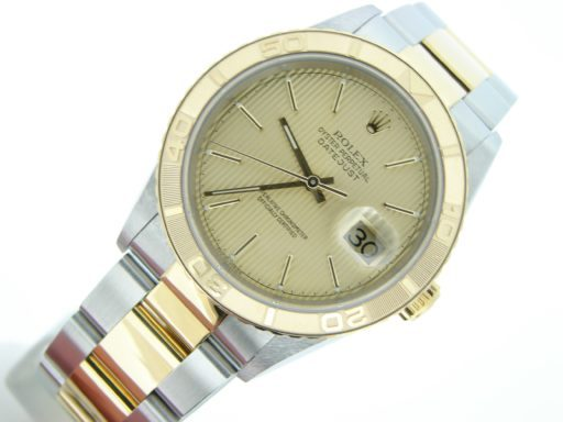 Rolex Two-Tone Datejust Turn-O-Graph 16263-7