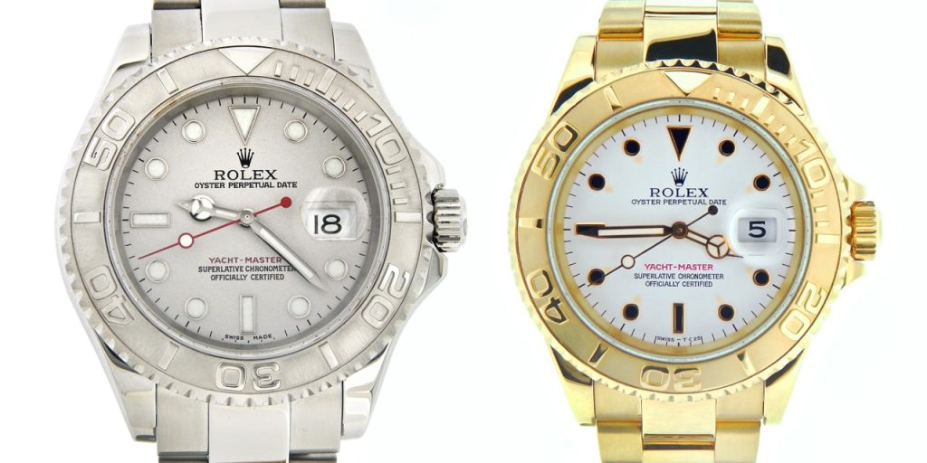 What is it with the Rolex traditional YachtMaster