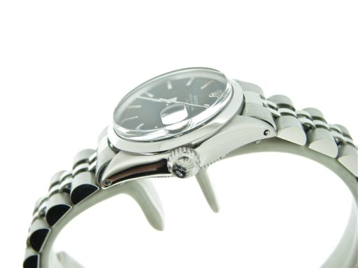 Rolex Stainless Steel Date 6516 Black -3