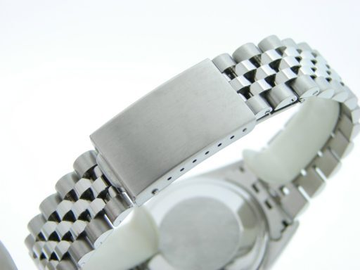 Rolex Stainless Steel Datejust 1601 Silver Diamond-2