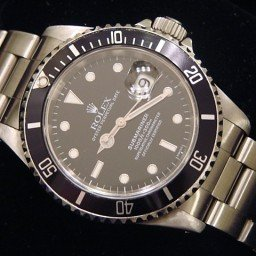 Mens Rolex Stainless Steel Submariner Black  16610 (SKU S3511111NNBCMT)