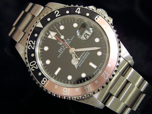 Rolex Stainless Steel GMT Master II 16710  -4