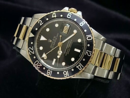 Rolex Two-Tone GMT-Master 16753 Black -5