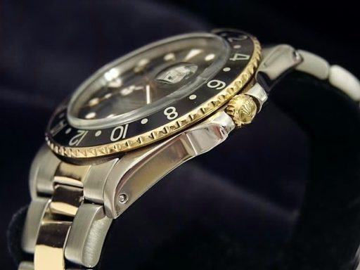 Rolex Two-Tone GMT-Master 16753 Black -3