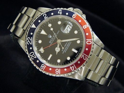 Rolex Stainless Steel GMT-Master 16700 Blue & Red Pepsi -7