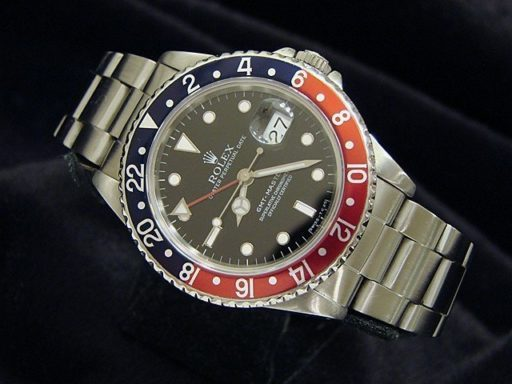 Rolex Stainless Steel GMT-Master 16700 Blue & Red Pepsi -6