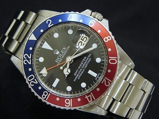 Rolex Stainless Steel GMT-Master 1675  -6