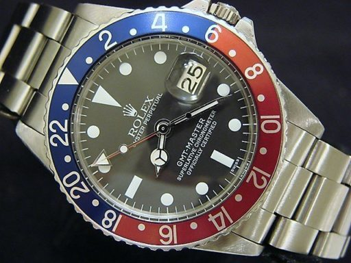Rolex Stainless Steel GMT-Master 1675  -5