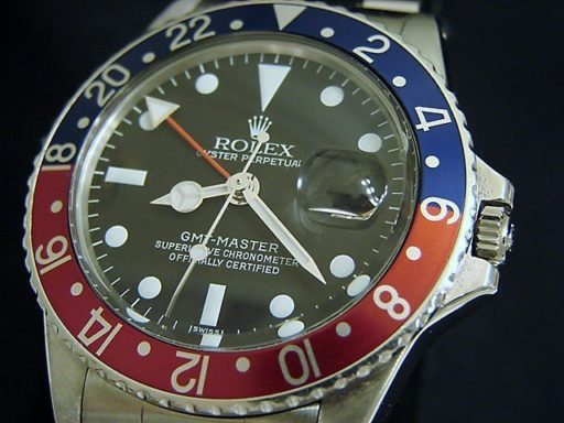 Rolex Stainless Steel GMT-Master 1675  -4