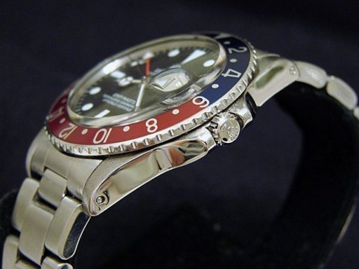 Rolex Stainless Steel GMT-Master 1675  -3