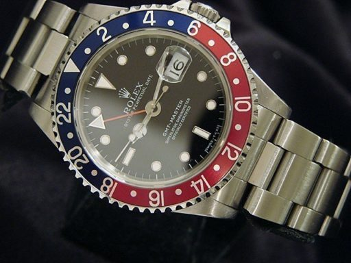 Rolex Stainless Steel GMT-Master 16700 Blue & Red Pepsi -4