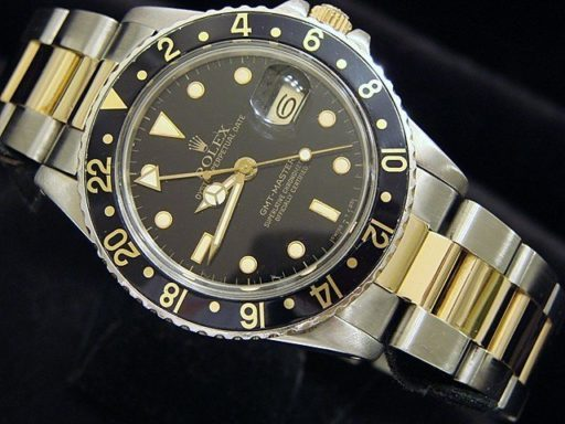 Rolex Two-Tone GMT-Master 16753 Black -4