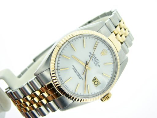 Rolex Two-Tone Datejust 16013 White -4