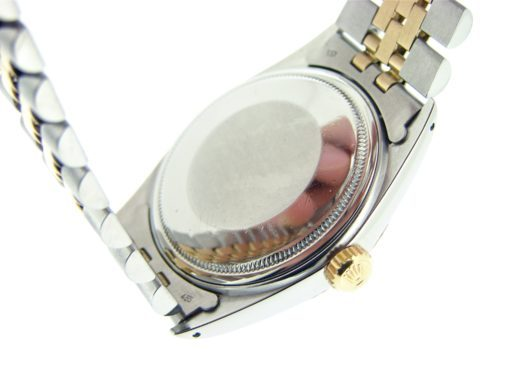 Rolex Two-Tone Datejust 16013 White -2