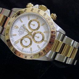 Mens Rolex Two-Tone 18K/SS Daytona White  16523