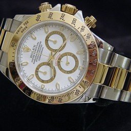 Mens Rolex Two-Tone 18K/SS Daytona White  116523 (SKU P296066CMT)