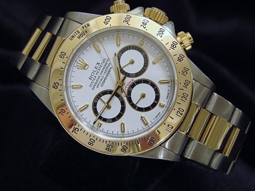 Rolex Two-Tone Daytona 16523 White-6
