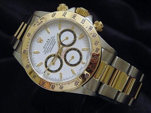 Rolex Two-Tone Daytona 16523 White-5