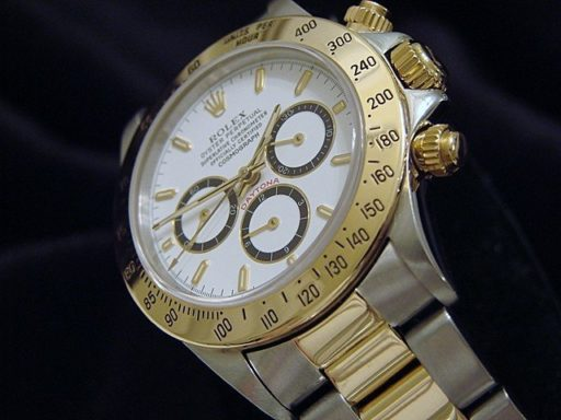 Rolex Two-Tone Daytona 16523 White-4