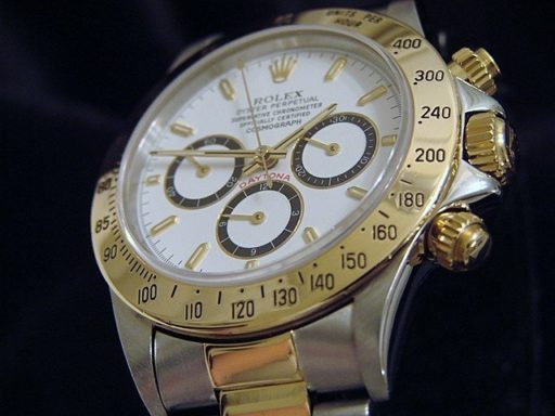 Rolex Two-Tone Daytona 16523 White-3