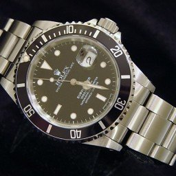 Mens Rolex Stainless Steel Submariner Black  16800 (SKU 9019516MT)