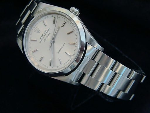 Rolex Stainless Steel Air-King 14000 Silver-6
