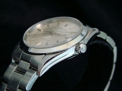 Rolex Stainless Steel Air-King 14000 Silver-3