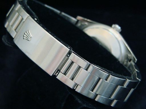 Rolex Stainless Steel Air-King 14000 Silver-2