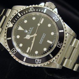 Mens Rolex Stainless Steel Submariner Black  14060M