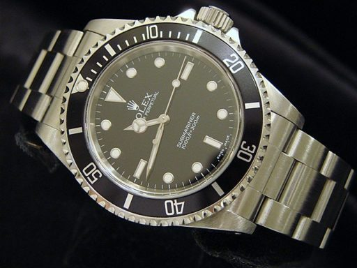 Rolex Stainless Steel Submariner 14060M Black -5