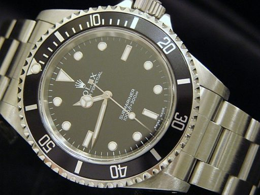 Rolex Stainless Steel Submariner 14060M Black -4