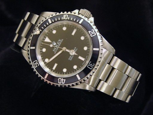 Rolex Stainless Steel Submariner 14060 Black -7