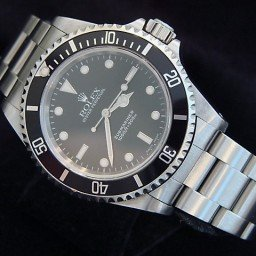 Mens Rolex Stainless Steel Submariner Black  14060