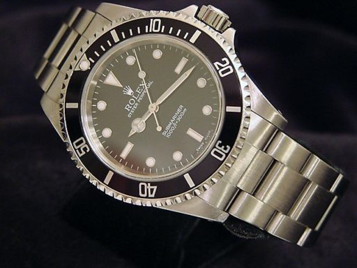 Rolex Stainless Steel Submariner 14060 Black -8