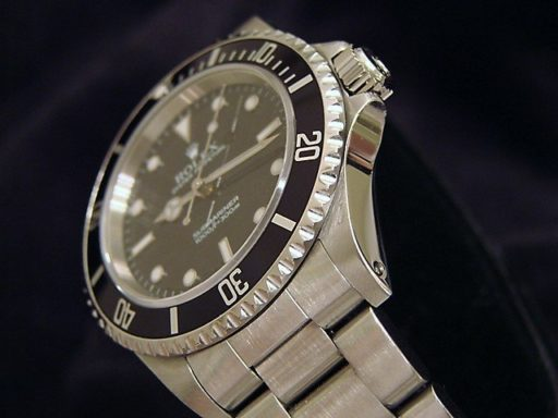 Rolex Stainless Steel Submariner 14060 Black -6