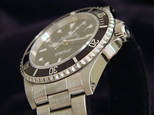 Rolex Stainless Steel Submariner 14060 Black -4