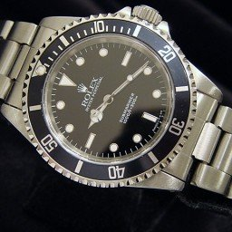 Mens Rolex Stainless Steel Submariner Black  14060 (SKU E131587MCMT)