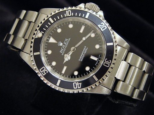 Rolex Stainless Steel Submariner 14060 Black -5