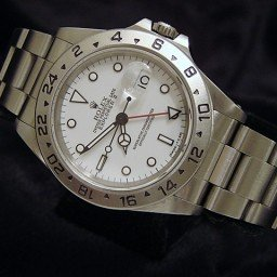 Mens Rolex Stainless Steel Explorer II White  16570 (SKU E699749MT)