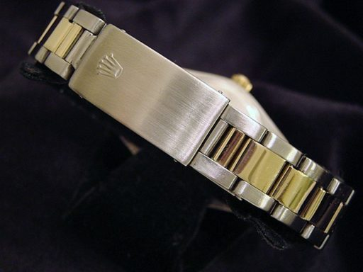 Rolex Two-Tone Air-King 5501 Silver -2