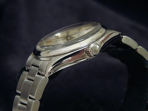 Rolex Stainless Steel Air-King 5500 Silver-2