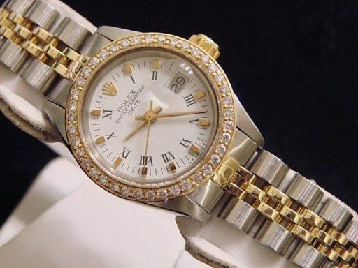 Rolex Two-Tone Date 6917 Diamond White-5