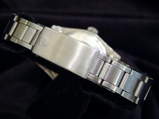 Rolex Stainless Steel Date 1500 White Diamond-2