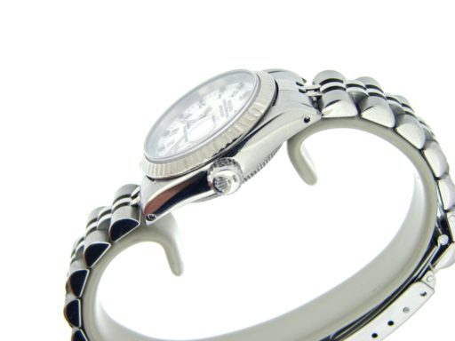 Rolex Stainless Steel Datejust 69174 White Roman-3