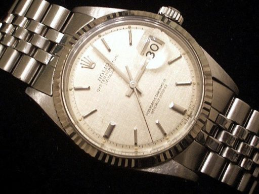 Rolex Stainless Steel Datejust 1601 Silver -5
