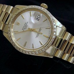 Pre Owned Mens Rolex Yellow Gold Date with a Silver Dial 1503 (SKU 1424761)