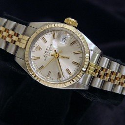 Ladies Rolex Two-Tone 14K/SS Date Silver  6917 (SKU 6641965MT)
