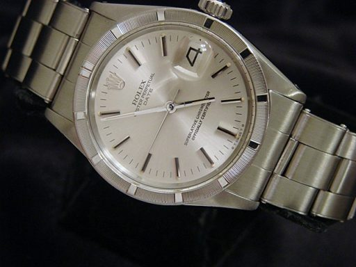 Rolex Stainless Steel Date 1501 Silver -4