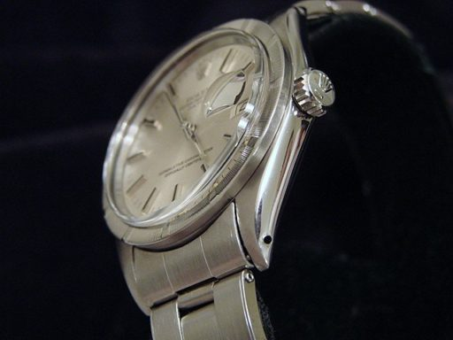 Rolex Stainless Steel Date 1501 Silver -3