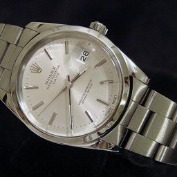 Mens Rolex Stainless Steel Date Silver  15000 (SKU R305086MT)